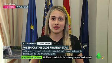 Tania Baños, alcaldesa de La Vall d'Uixó
