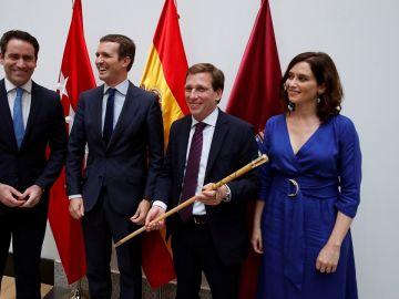 Imagen de García-Egea, Casado, Almeida y Levy