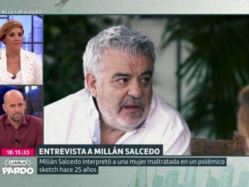 """Millán Salcedo habla de """"la censura"""" de lo """"políticamente incorrecto"""": """"A mí todavía me critican por una parodia que hice de una mujer maltratada"""""""