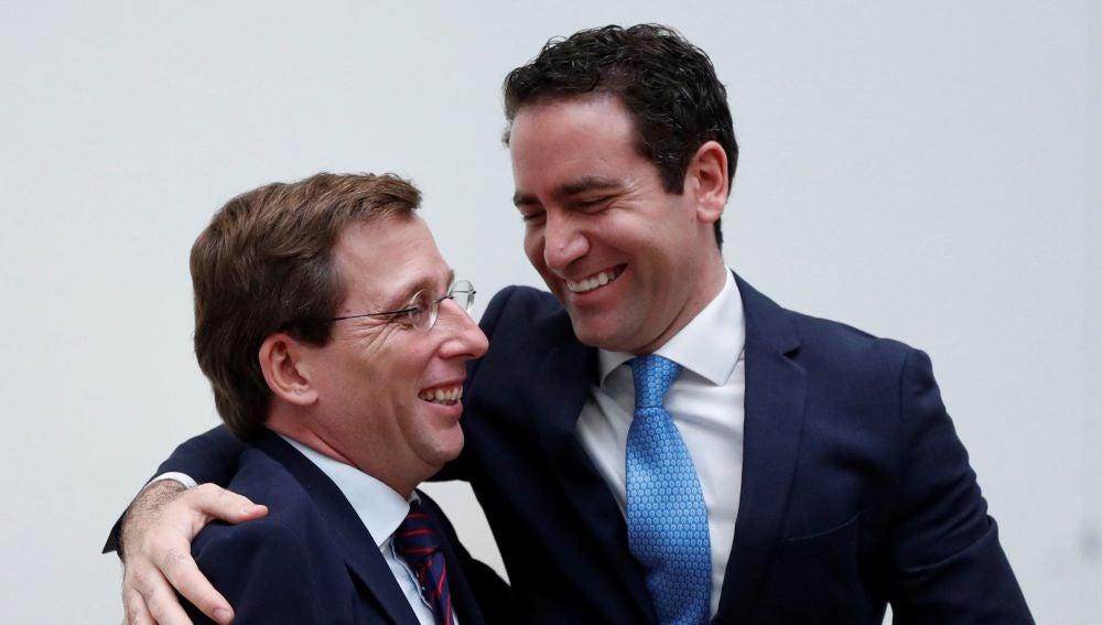 García Egea y Martínez-Almeida