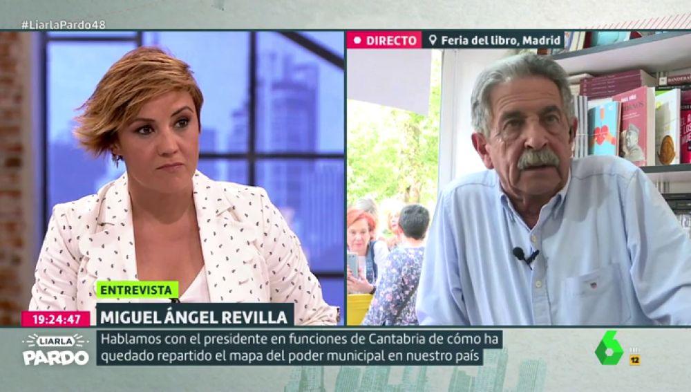 """Miguel Ángel Revilla: """"Están deseando que Pedro Sánchez pacte con los independentistas para tener carnaza"""""""