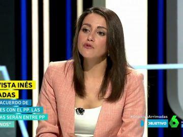 Inés Arrimadas, en El Objetivo