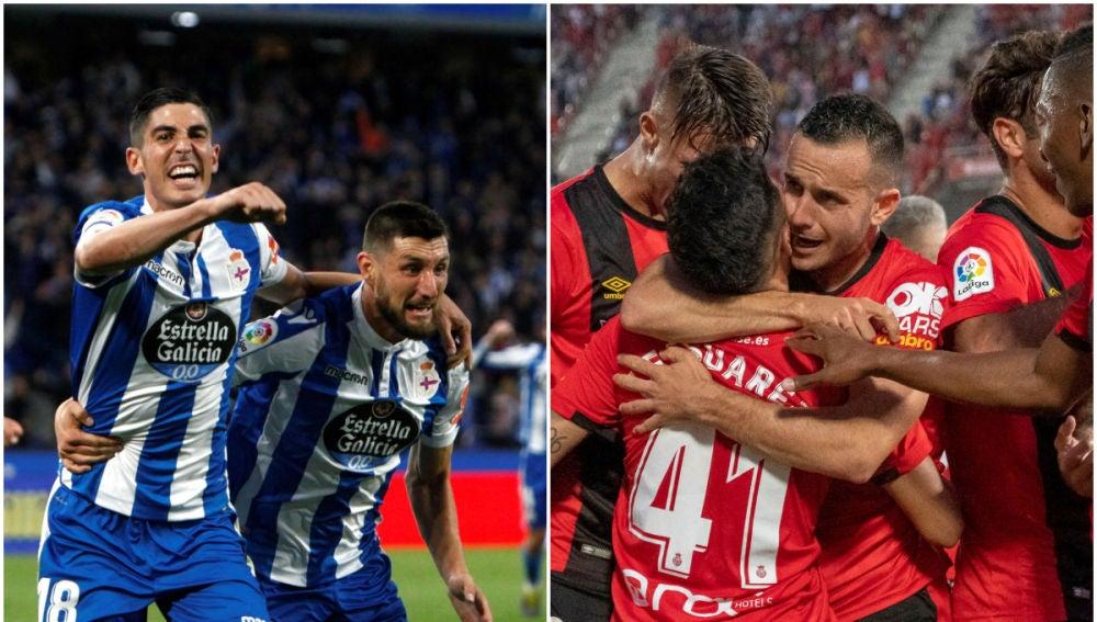 El Deportivo de La Coruña y el Mallorca