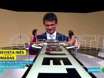 """Inés Arrimadas: """"No estoy de acuerdo con Valls, se equivoca al pensar que Colau es una buena opción para Barcelona"""""""