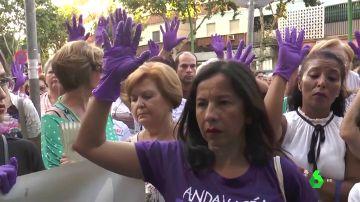 Protesta en Córdoba contra la violencia machista