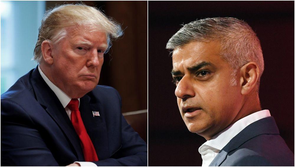 El presidente estadounidense critica al alcalde de Londres tras la nueva oleada de crímenes.