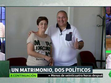 Un concejal del PP cede el voto a su mujer para que sea alcaldesa por el PSOE en un pueblo de Guadalajara