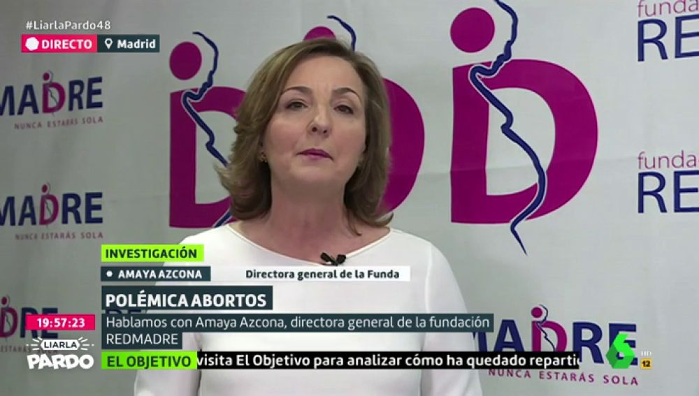 Amaya Azcona, fundación REDMADRE