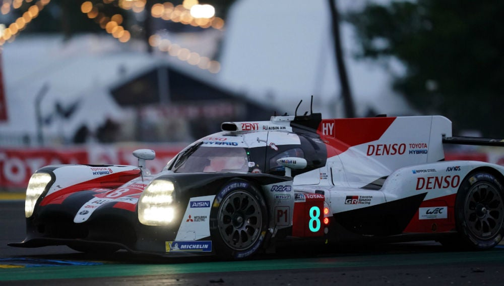 El Toyota 8 de Fernando Alonso