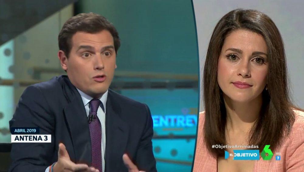 """Arrimadas reacciona las declaraciones en las que Rivera renegaba de Vox: """"Se habla mucho de qué partidos pactan, pero no de las medidas"""""""