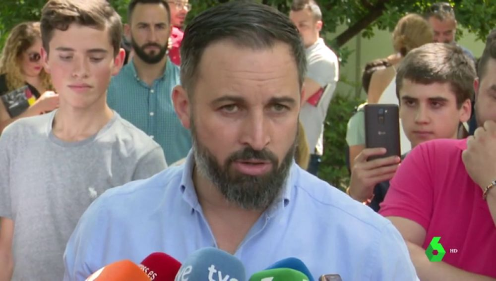 Santiago Abascal defiende a sus concejales de Burgos que dejaron al PP sin la alcaldía