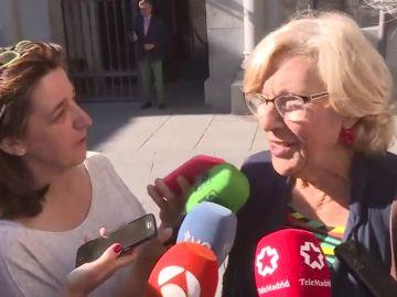 """Manuela Carmena renuncia a su acta de concejala en Madrid: """"Yo ya no soy nadie"""""""
