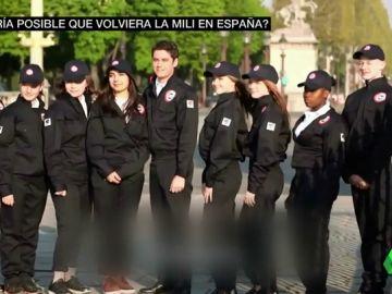 Francia estrena su 'mili' civil para adolescentes