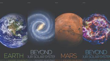 Pósters ofrecidos por la NASA