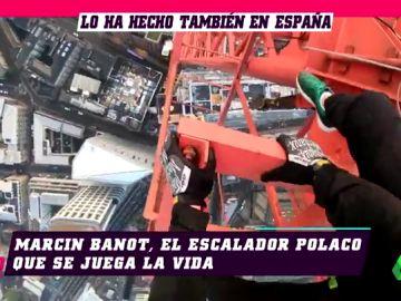 Las locuras más extremas del Spider-Man de Silesia: así se prepara para subir 'a pelo' los edificios más altos del mundo