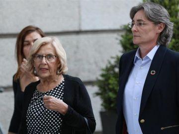 Manuela Carmena y Marta Higueras