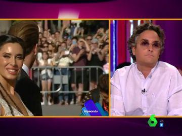 """La crítica de Josie al vestido de novia de Pilar Rubio: """"Se ha metido en un berenjenal, es imposible defenderlo"""""""