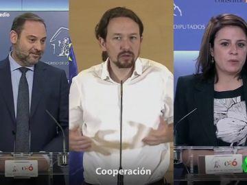 """El 'hit' de Iván Lagarto sobre el posible acuerdo entre PSOE y Podemos: """"Cooperación, cooperación, no es algo cerrado"""""""