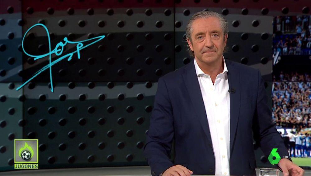 """Josep Pedrerol: """"Málaga, ánimo. Muy pronto estaréis en Primera"""""""