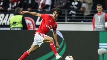 Joao Felix, durante un partido con el Benfica