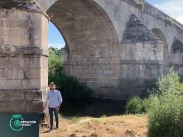 El Puente de Retamar, el rincón verde que Frank Blanco presenta al mundo