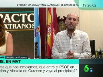 """El alcalde de Ourense, de querer echar al PP a ganar con sus votos: """"Pactaría con el demonio si consigo el cielo para la ciudad"""""""
