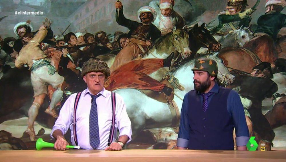 """Wyoming y Dani Mateo 'suscriben' el discurso de Vox en """"la guerra contra los franceses"""": """"Son el auténtico enemigo"""""""