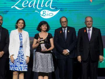 El president de la Generalitat, Quim Torra, en la entrega de los Premios Pimes