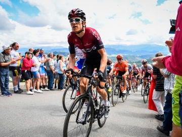 Geraint Thomas abandona la vuelta a Suiza