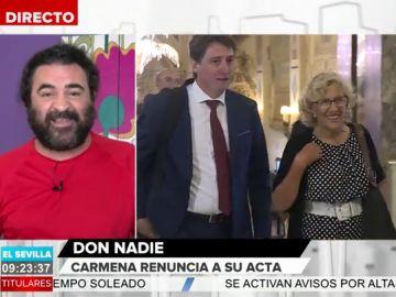 La defensa de El Sevilla a Manuela Carmena