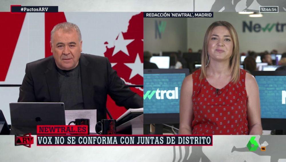 Inés Calderón en ARV