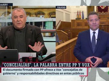 El presidente de Castilla-La Mancha en funciones, Emiliano García-Page