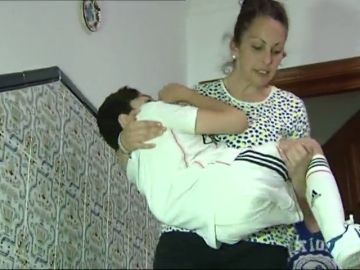 El drama de Manuel: un niño de Jerez atrapado en su casa por culpa de unas escaleras