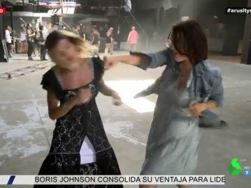Silvia Abril desvela los entresijos del rodaje de 'Superagente Makey'