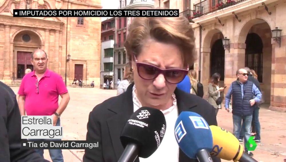 Estrella Carragal, tía de David Carragal