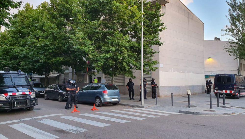 Operativo antidroga en el Prat de Llobregat