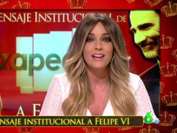 """El mensaje institucional de Zapeando al rey Felipe VI: """"En unos años le veremos sonreír solo en las monedas"""""""