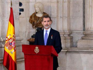 Felipe VI conmemora su quinto año de reinado