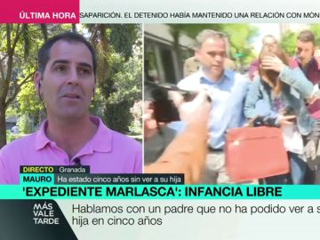 """Mauro, un padre afectado por Infancia Libre: """"Bajé al punto de encuentro con mi hija durante tres años, de manera infructuosa"""""""
