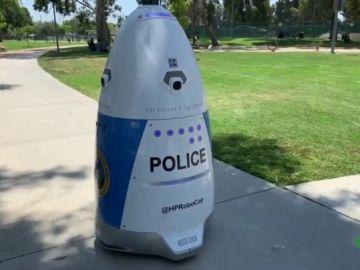 'HP Robocop', el nuevo agente de policía de California: patrulla la ciudad con cámaras incorporadas