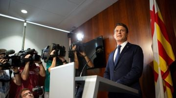 El ex primer ministro francés Manuel Valls y concejal del Ayuntamiento de Barcelona