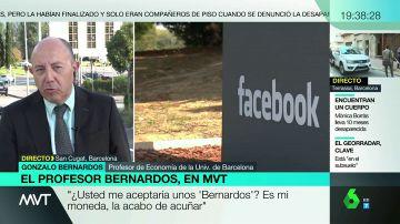 """Gonzalo Bernardos: """"Lo que Facebook pretende es sustituir a los bancos"""""""