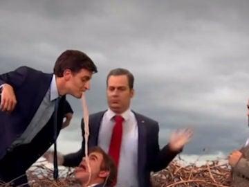 """La parodia sobre la llegada de  PP, Ciudadanos y Vox al Ayuntamiento de Madrid: """"Madrid Central les altera, el resto de podemitas aún es fresco"""""""