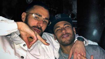 La imagen de Benzema junto a Neymar
