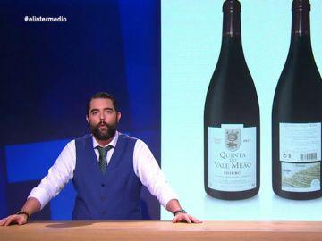 """Dani Mateo investiga el escandaloso precio del vino que Marcos de Quinto bebe cuando la """"gentuza"""" le insulta"""