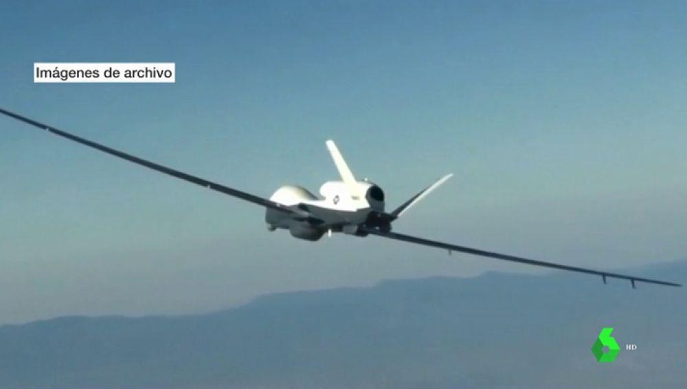 Irán derriba un dron de Estados Unidos en el Estrecho de Ormuz