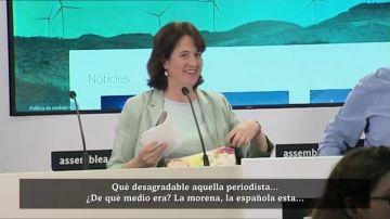Elisenda Paluzie, presidenta de la Asamblea Nacional Catalana
