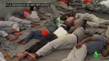 """""""Tenemos derecho a la libertad"""", o cómo Europa sigue dando la espalda a quienes intentan huir del drama"""