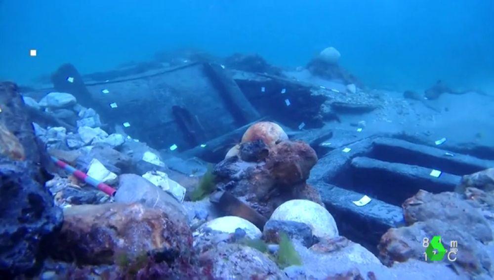 Descubren un barco español tras 420 años hundido, una pieza única de la armada de Felipe II