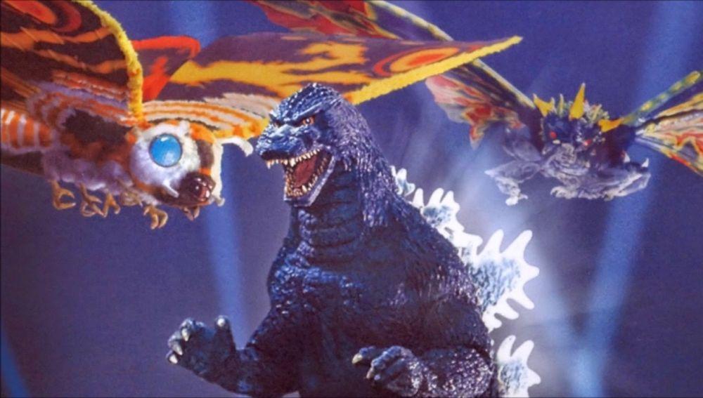 la polilla gigante de las películas de Godzilla